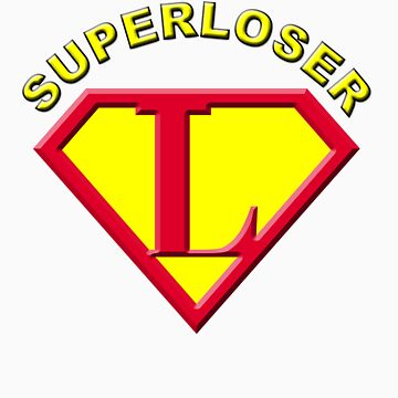 Superloser Tee by macromagnon