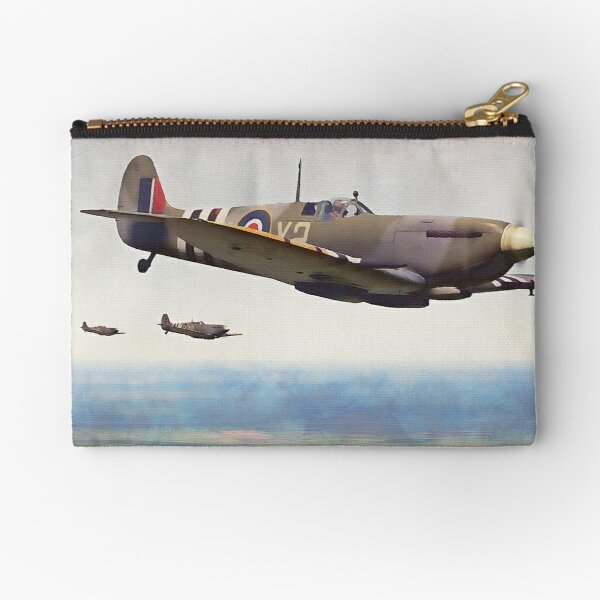 Supermarine Spitfire Zipper Pouch