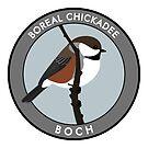 Boreal Chickadee by JadaFitch