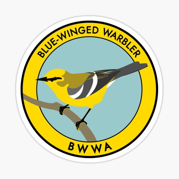 Blue-winged Warbler Sticker