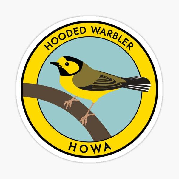 Hooded Warbler Sticker