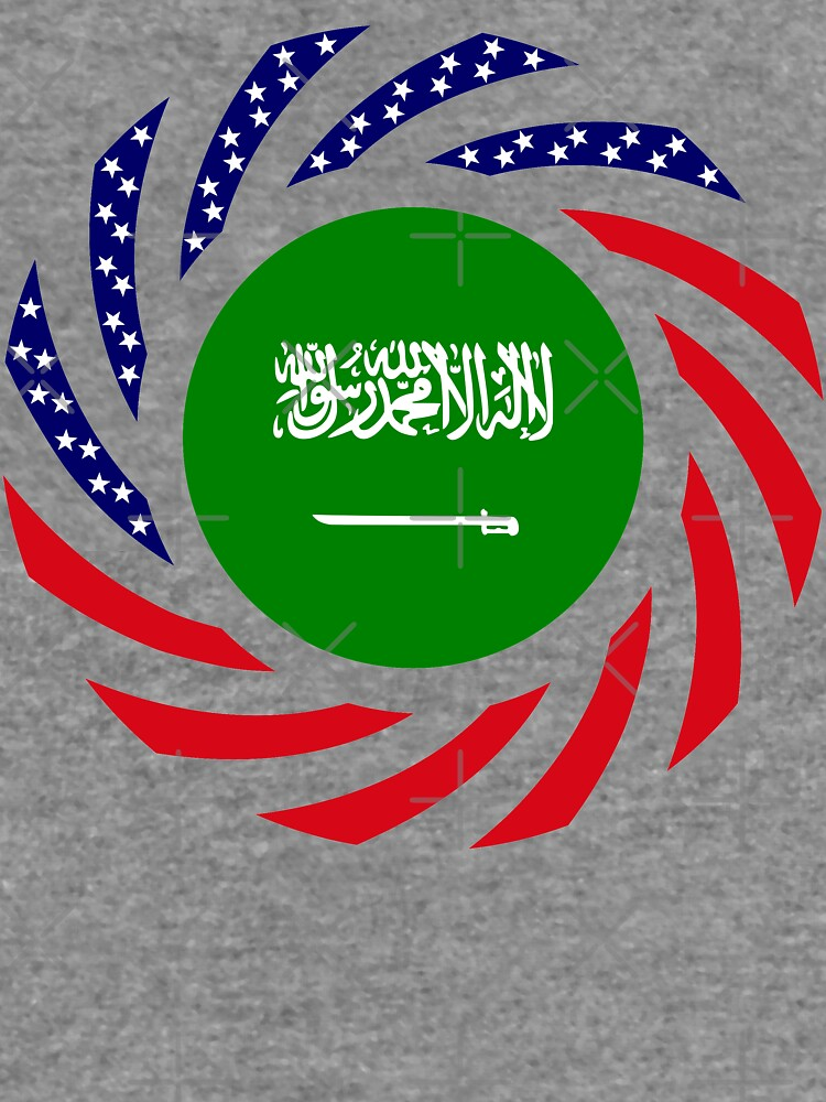 Saudi American Multinational Patriot Flag Series by carbonfibreme