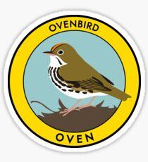 Ovenbird Sticker