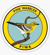 Pine Warbler Sticker