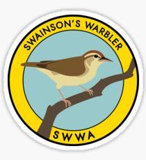Swainson's Warbler Sticker