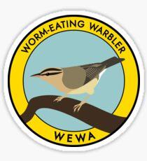 Worm-eating Warbler Sticker