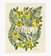 Killin 'es - tropisches Gelb Fotodruck