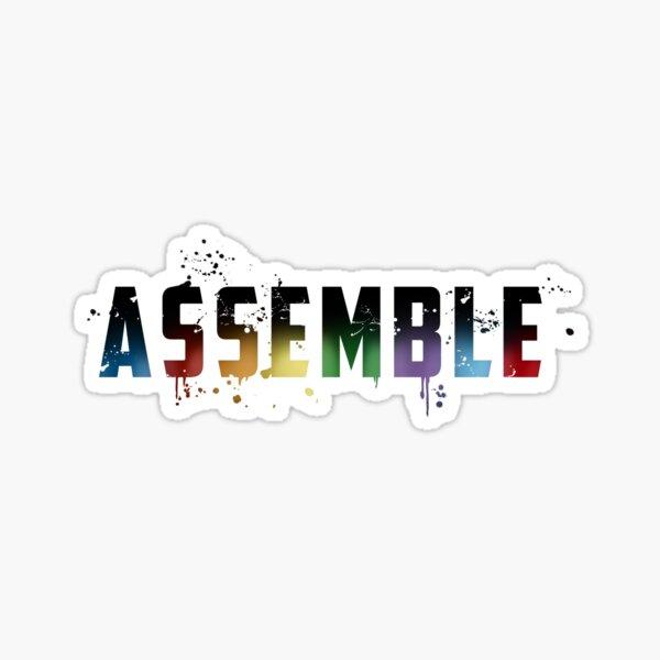 Assemble v2 Sticker