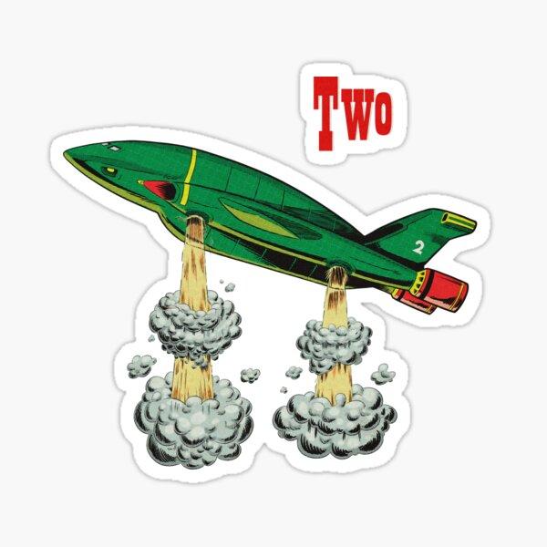 Thunderbird Two Sticker