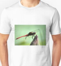 Dragonfly side profile Unisex T-Shirt
