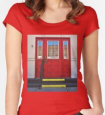 Old Timey Two-Step Women's Fitted Scoop T-Shirt