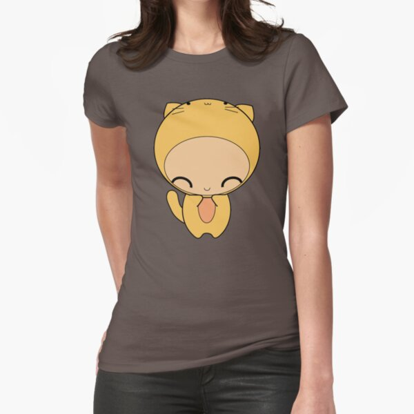 kitty kat Fitted T-Shirt