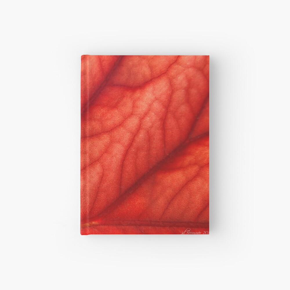 Under Shades of Red Hardcover Journal