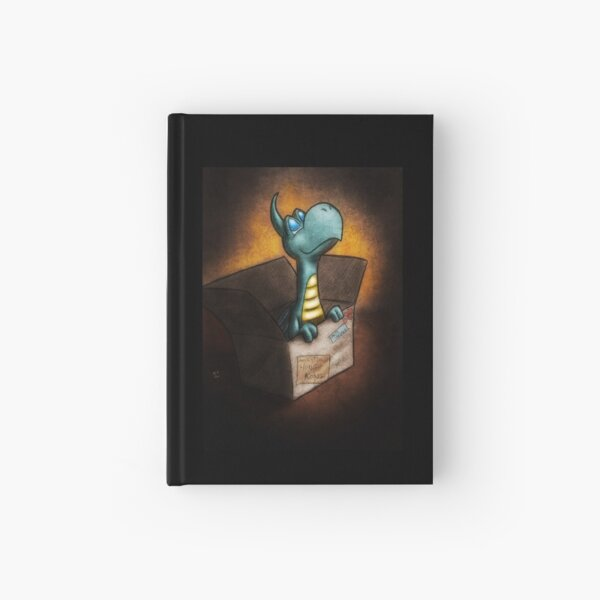 Dragon Delivery Hardcover Journal