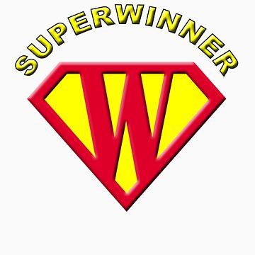 Superwinner Tee by macromagnon