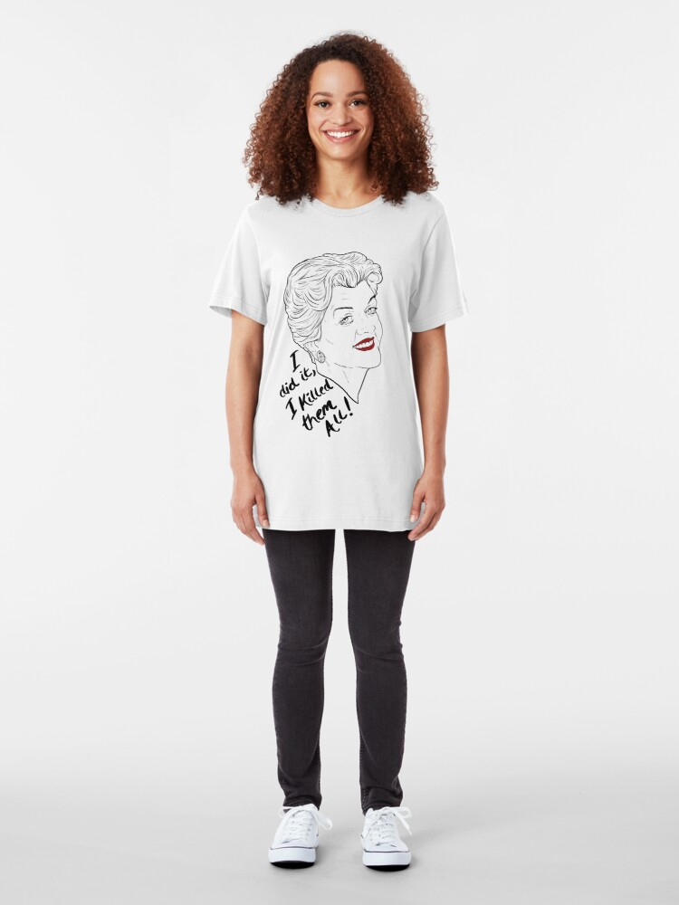 Alternate view of Jessica's Confession Slim Fit T-Shirt