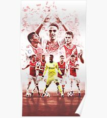 Ajax Champions Of Holland Poster