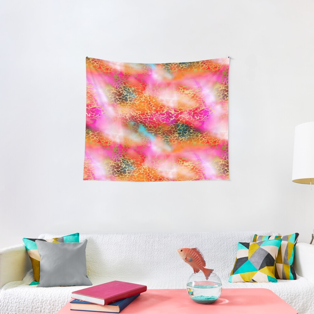 Hot gold color fancy Tapestry