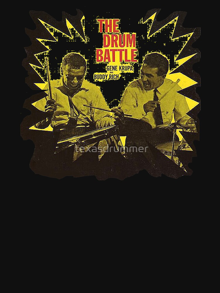 Buddy Rich & Gene Krupa Drum Battle by texasdrummer