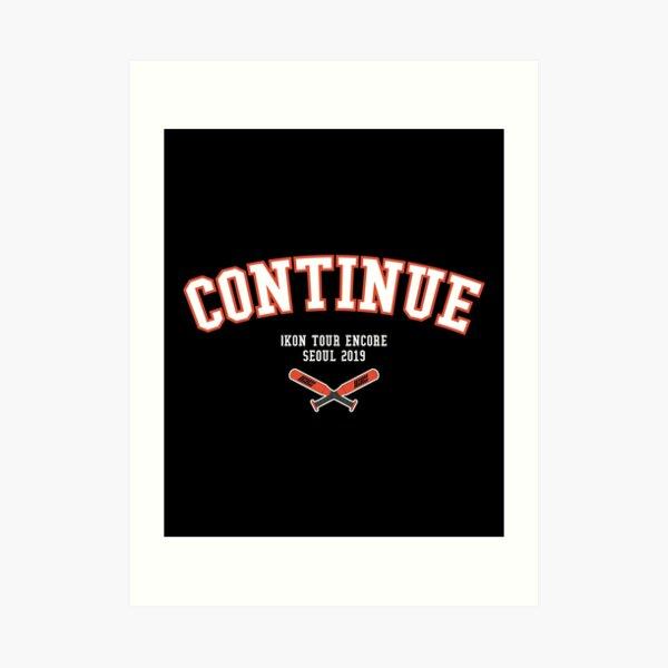 KPOP iKON TOUR ENCORE SEOUL 2019 TSHIRT/ HOODIE/ CASE Art Print