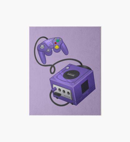 Purple GameCube Art Board Print