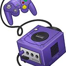 Purple GameCube by Elisecv