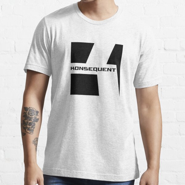 Konsequent Records Logo Essential T-Shirt