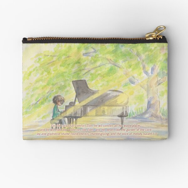 May's pianist Zipper Pouch