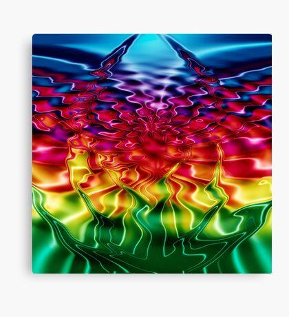 Bursting (Abstract) Canvas Print