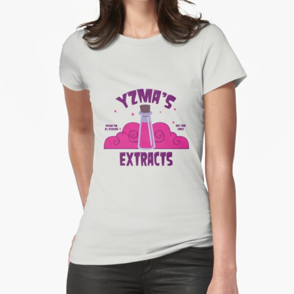 Yzma's Extracts Fitted T-Shirt
