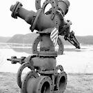 Flüssige Mechanik-Skulptur auf dem Hudson von MGStrack