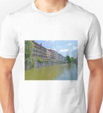 Homes along the Ljubanica River, Ljubljana, Slovenia T-Shirt