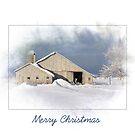 Landweihnachtsscheune von Maria Dryfhout