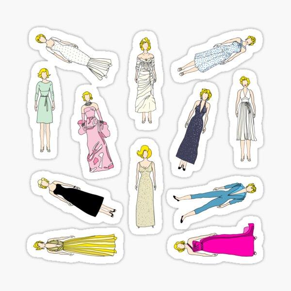 Blonde Diamonds Fashion Sticker