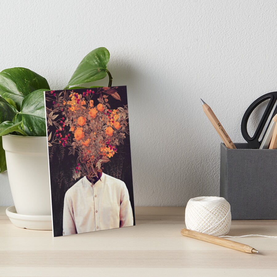 Bloom Art Board Print