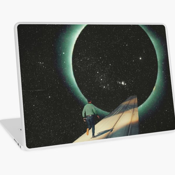 Escaping into the Void Laptop Skin