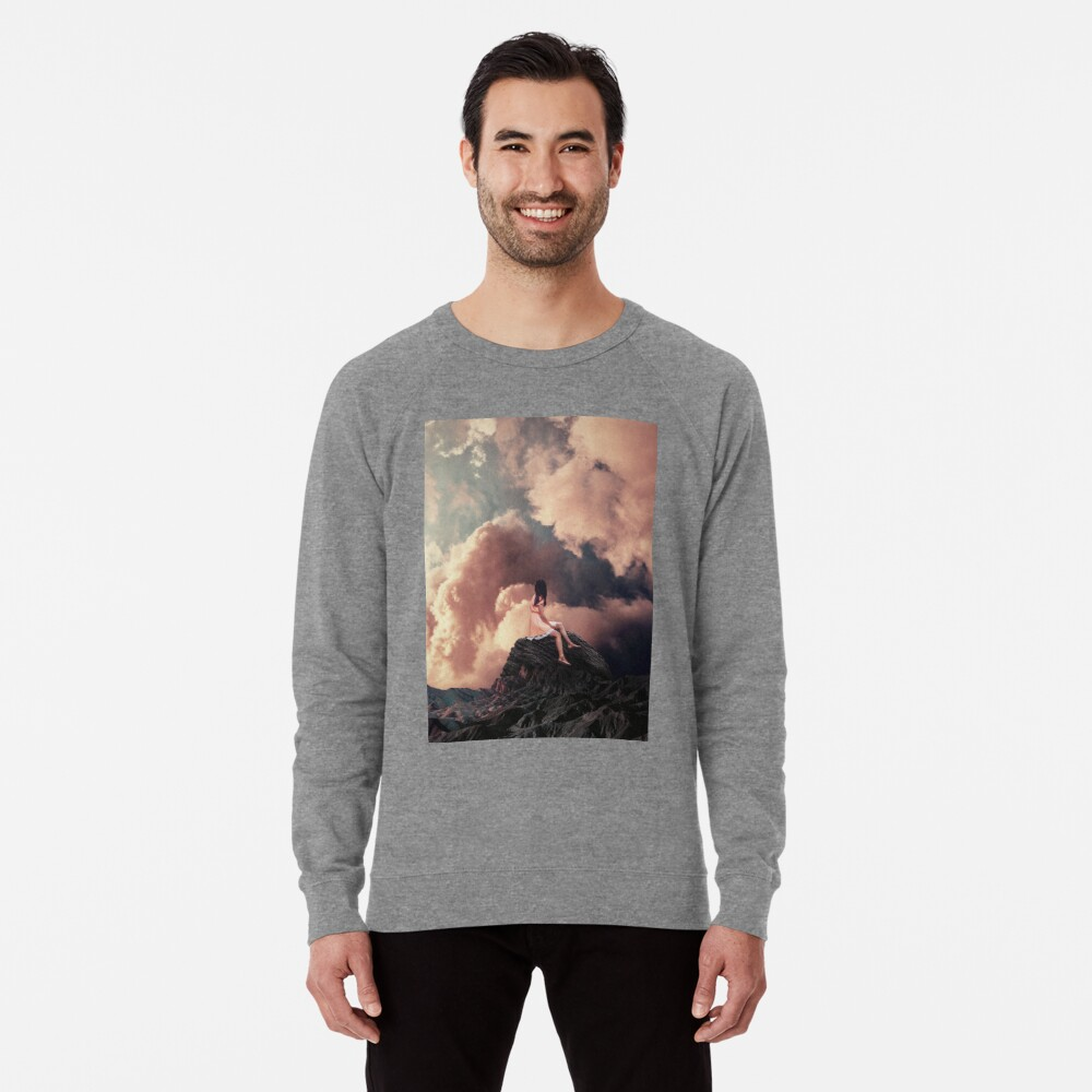 You came from the Clouds Lightweight Sweatshirt