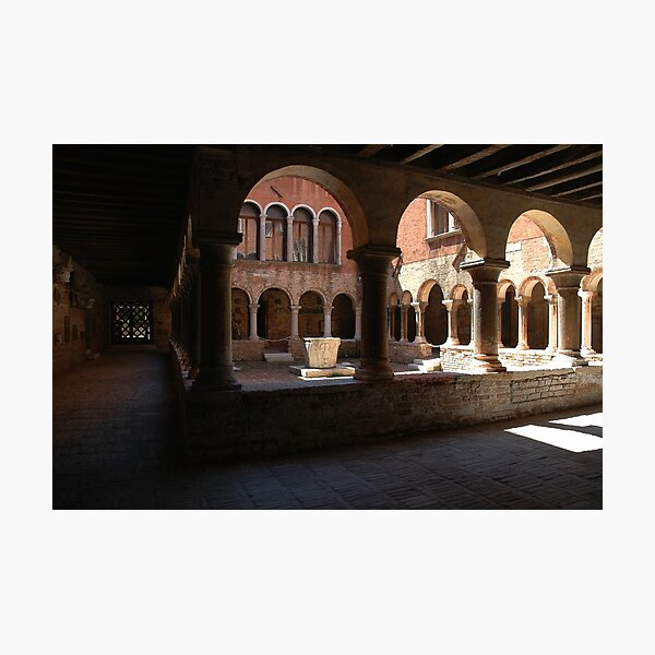 Kreuzgang von Sant'Apollonia Fotodruck