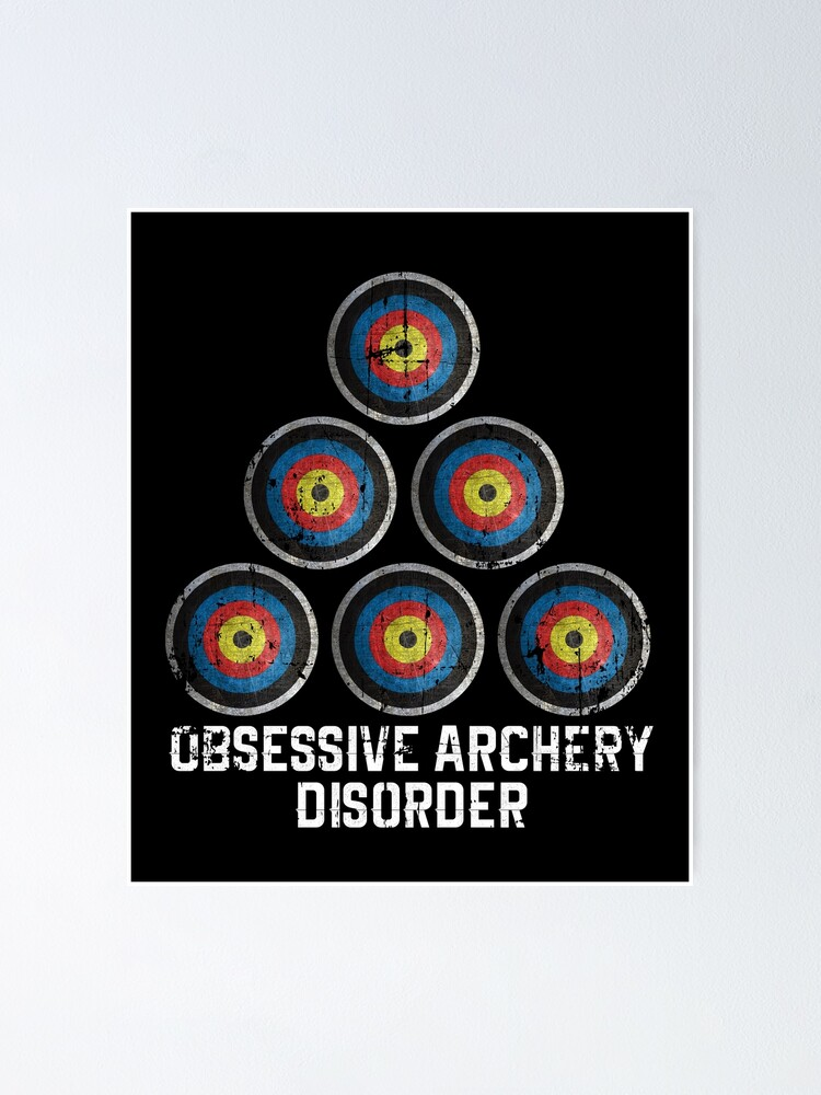 Alternate view of Archery hobby Poster