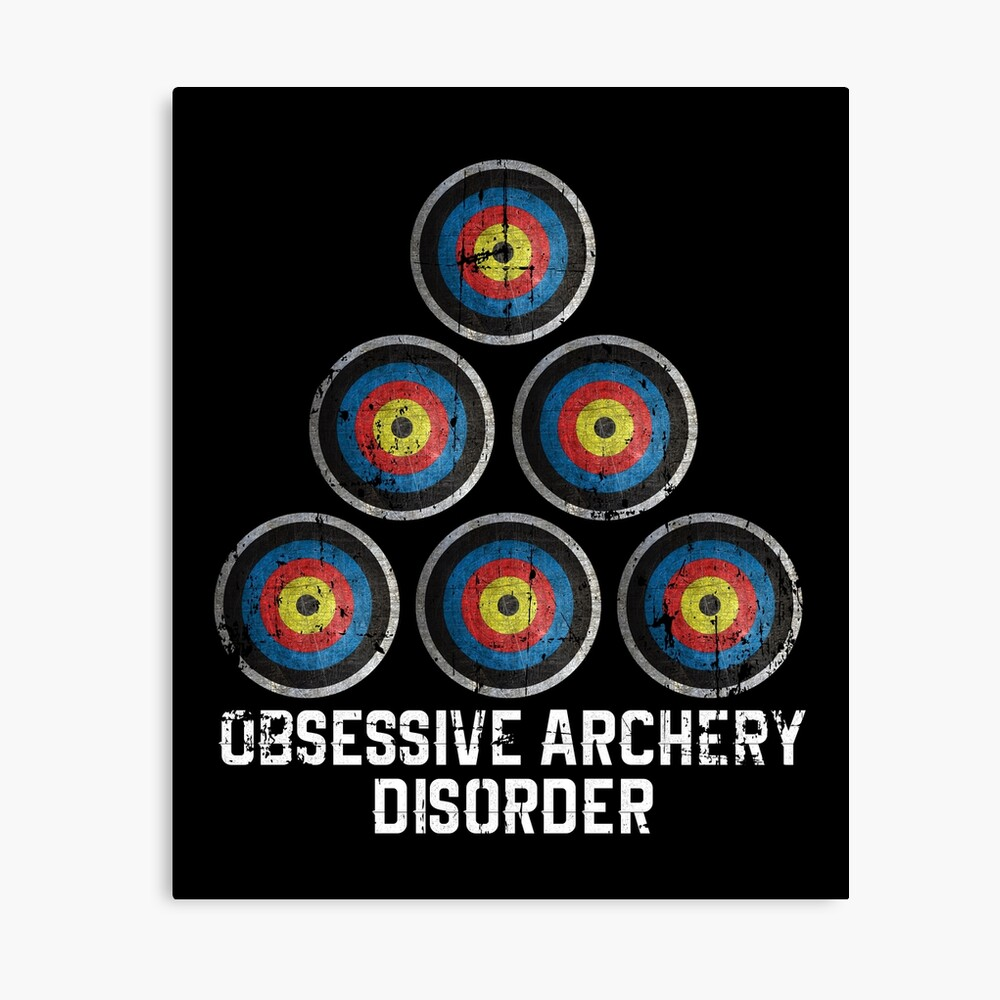 Archery hobby Canvas Print