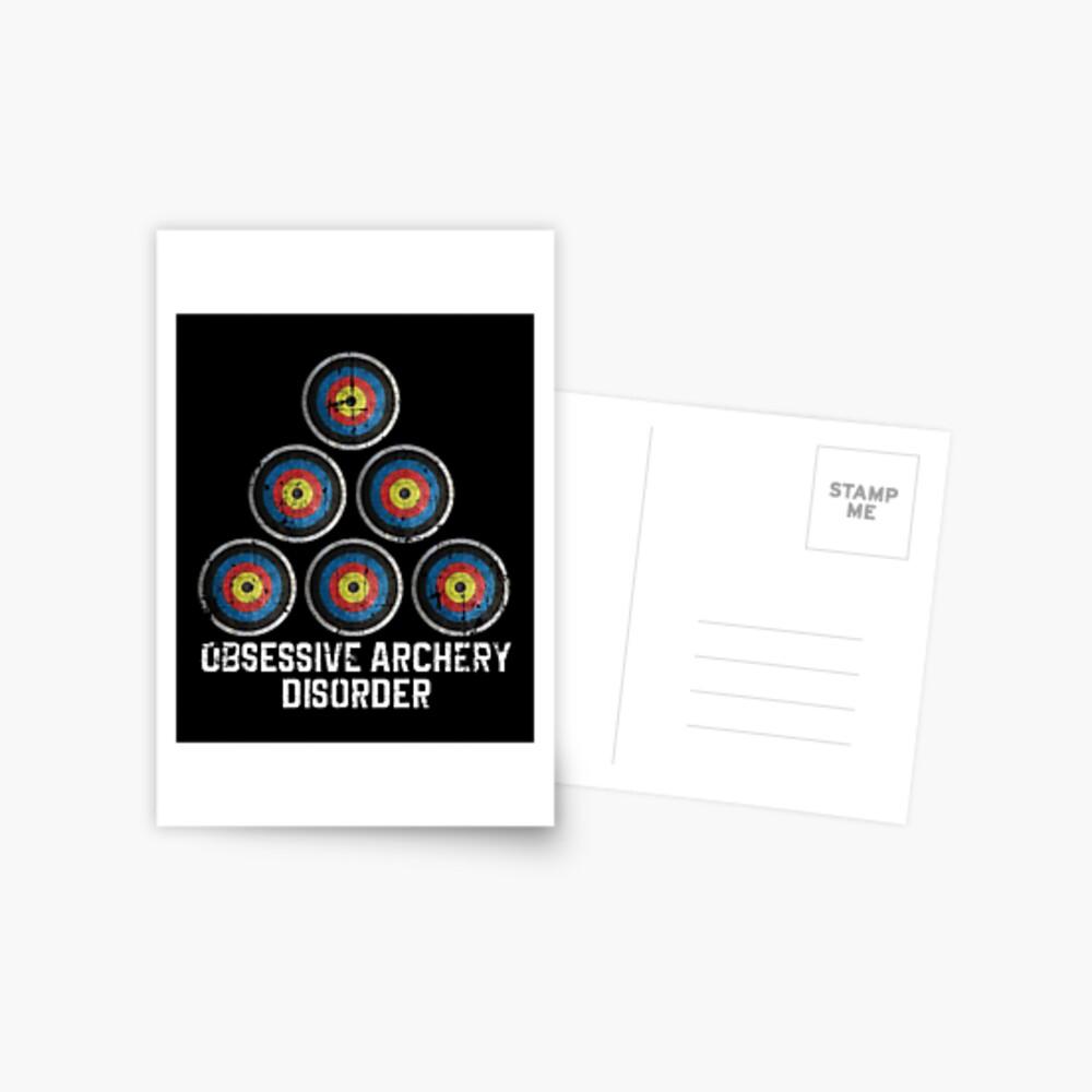 Archery hobby Postcard