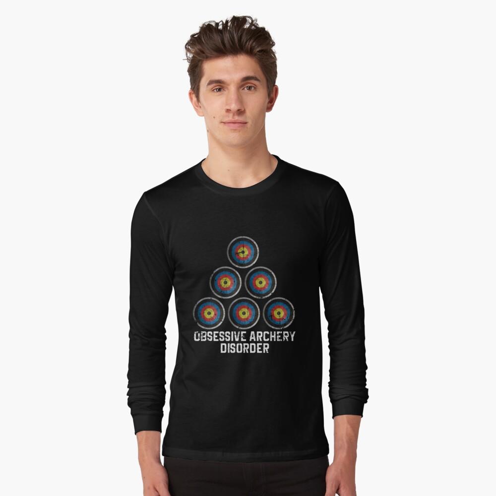 Archery hobby Long Sleeve T-Shirt