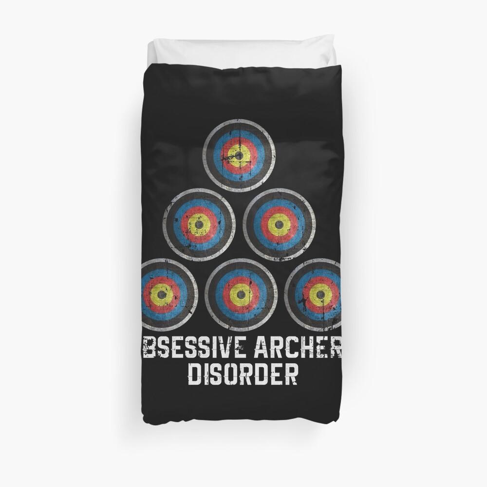 Archery hobby Duvet Cover