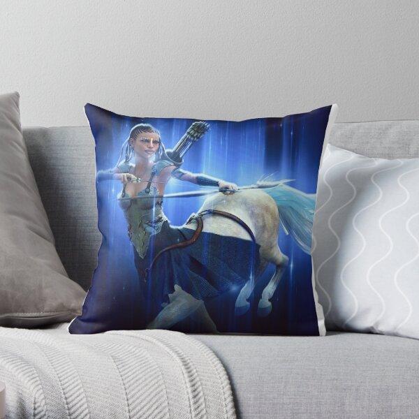 Sagittarius (Female) Throw Pillow