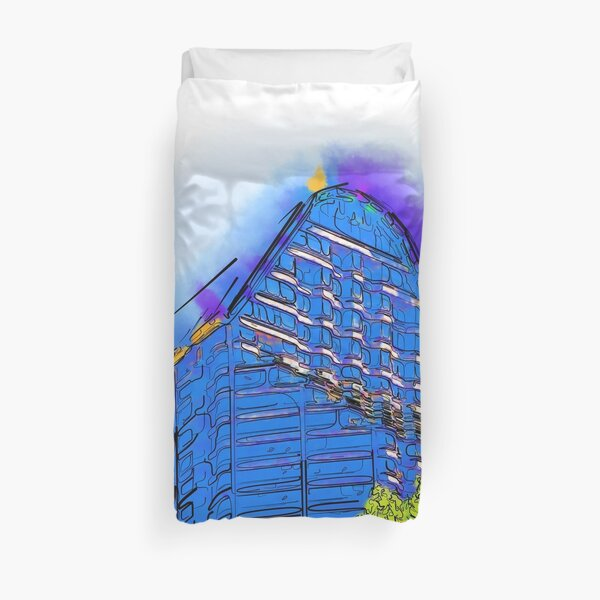 Abstract Arch Duvet Cover