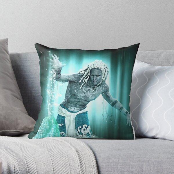 Aquarius (Male) Throw Pillow