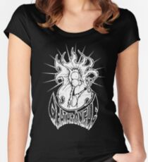 Deathtöngue Women's Fitted Scoop T-Shirt