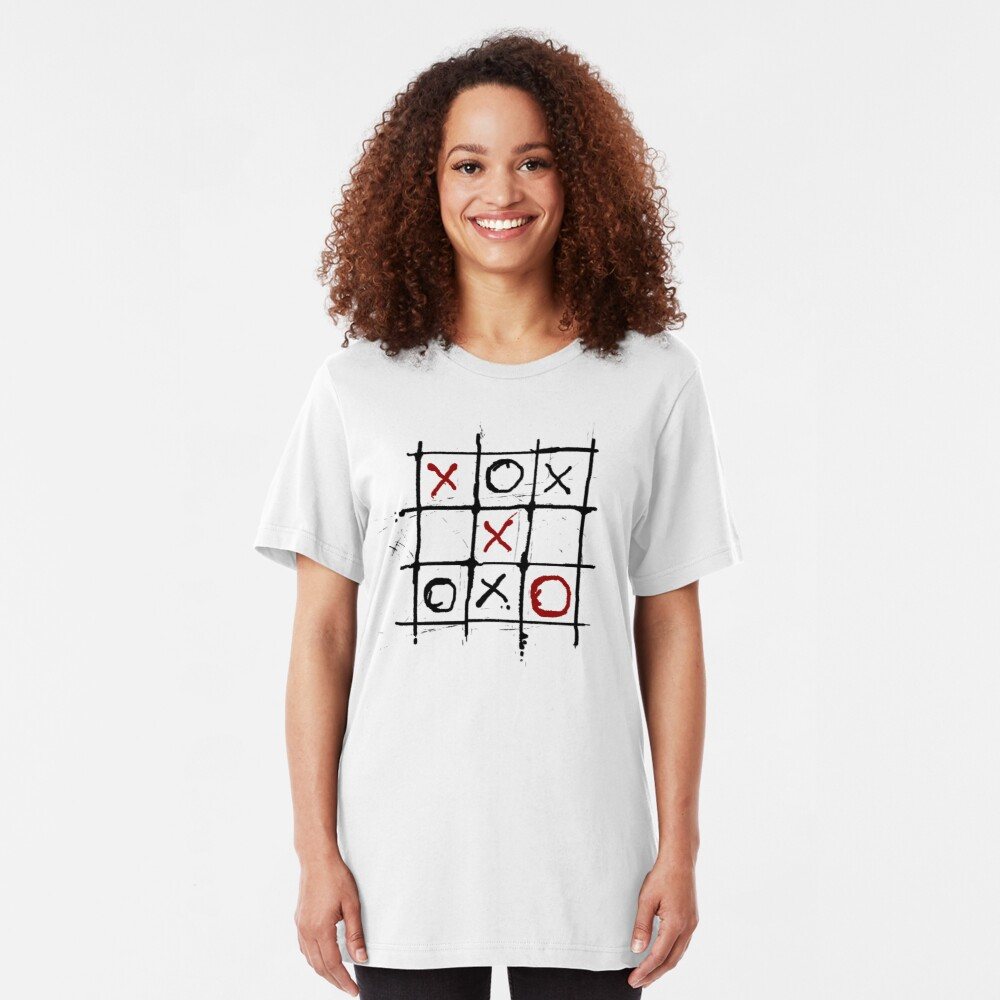 Tic - Tac - Blood III. Slim Fit T-Shirt