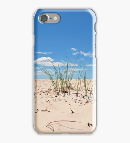 Sand Grass at Sisters Beach iPhone Case/Skin
