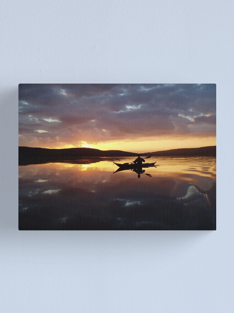 Alternate view of Farewell to Finstown Canvas Print